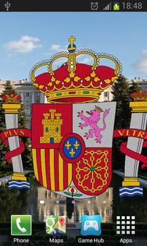 Spain Flag Live Wallpaper apk screenshot