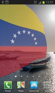 Venezuela Flag Live Wallpaper poster