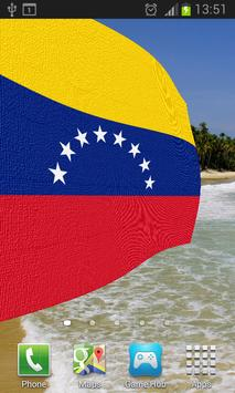 Venezuela Flag Live Wallpaper apk screenshot