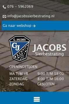 Jacobs Sierbestrating apk screenshot