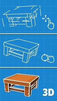 3D Puzzle poster