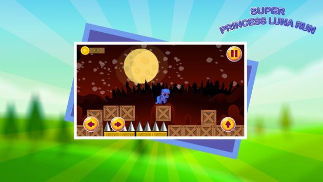 Super Princess Luna Run apk screenshot