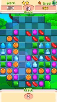 Candy Clash Crush : Sweet Jelly Kingdom Swap Crush apk screenshot