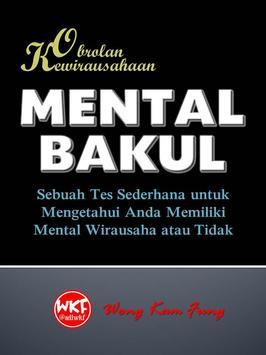 Kewirausahaan: Mental Bakul poster