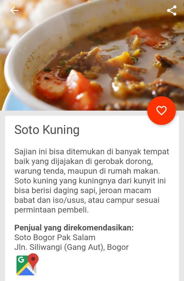 25 Kuliner Bogor For Android Apk Download