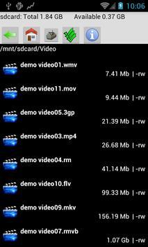WK HD Video Player Pro apk screenshot