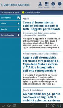 Notizie Quotidiano Giuridico screenshot 10