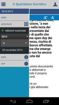 Notizie Quotidiano Giuridico screenshot 3