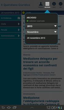 Notizie Quotidiano Giuridico screenshot 9