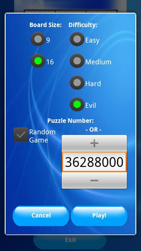 Sudoku Supreme 9x9 16x16 Free for Android - APK Download