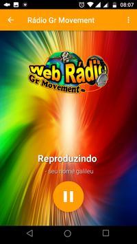 Rádio Gr Movement screenshot 1