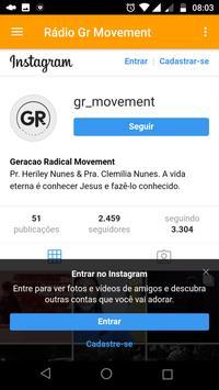 Rádio Gr Movement screenshot 6