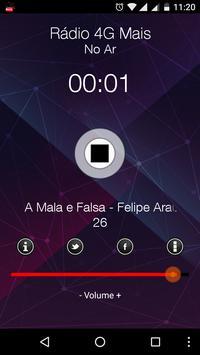 Rádio 4G Mais screenshot 1