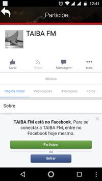 Rádio Taíba FM screenshot 5