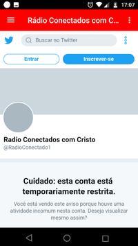 Rádio Conectados com Cristo screenshot 1