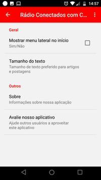 Rádio Conectados com Cristo screenshot 3