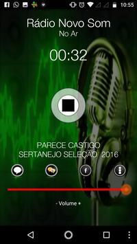 Rádio Novo Som screenshot 1