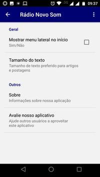 Rádio Novo Som screenshot 2