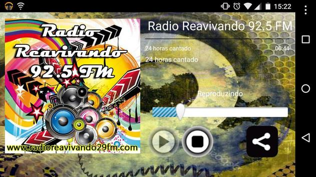 Rádio Reavivando 92.5 FM screenshot 3