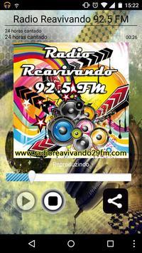 Rádio Reavivando 92.5 FM poster