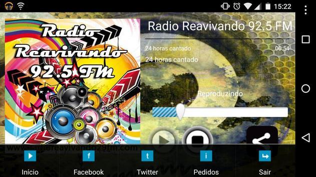 Rádio Reavivando 92.5 FM screenshot 2