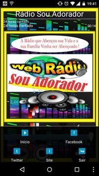 Rádio Sou Adorador screenshot 1