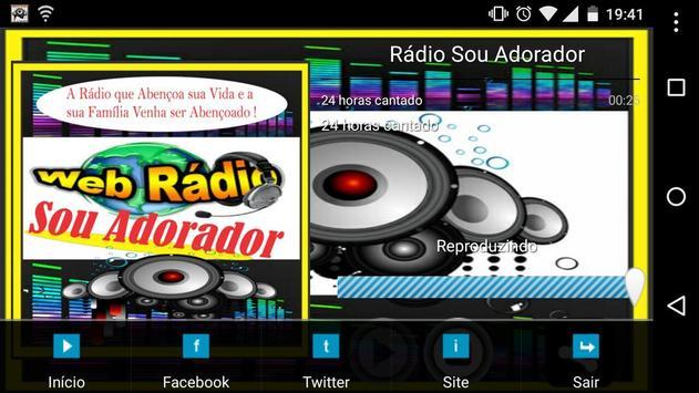 Rádio Sou Adorador screenshot 2
