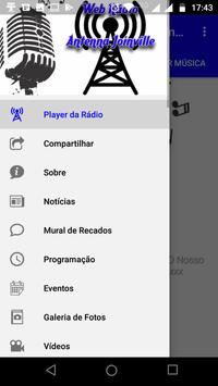 Web Rádio Antenna Joinville screenshot 4