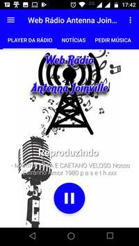Web Rádio Antenna Joinville screenshot 1