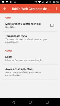 Rádio Web Geradora de Milagres screenshot 6