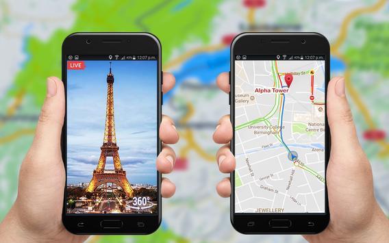Live Street View: Live Earth Map Navigation screenshot 7