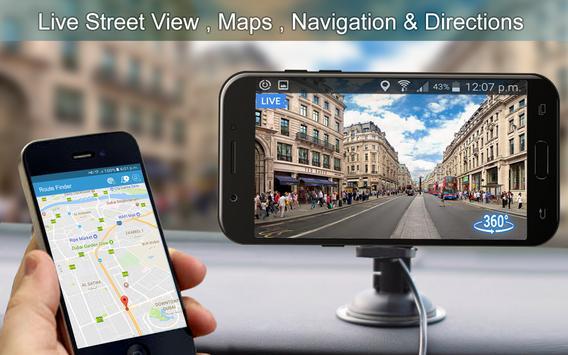 Live Street View: Live Earth Map Navigation screenshot 5