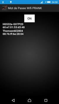 Mot de Passe Wifi PRANK screenshot 2
