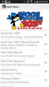 Kool Hits 1057 screenshot 1