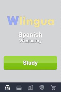 Learn Spanish - 3,400 words poster