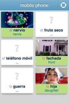 Learn Spanish - 3,400 words screenshot 2