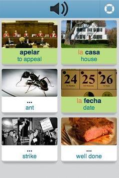 Learn Spanish - 3,400 words screenshot 4