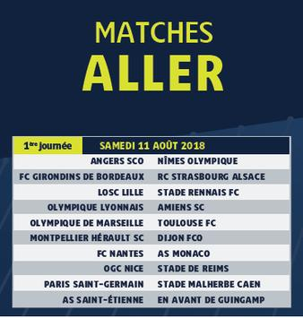 Calendrier Ligue.Calendrier Ligue 1 2018 2019 For Android Apk Download