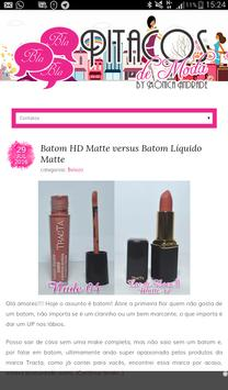Blog Pitacos de Moda apk screenshot