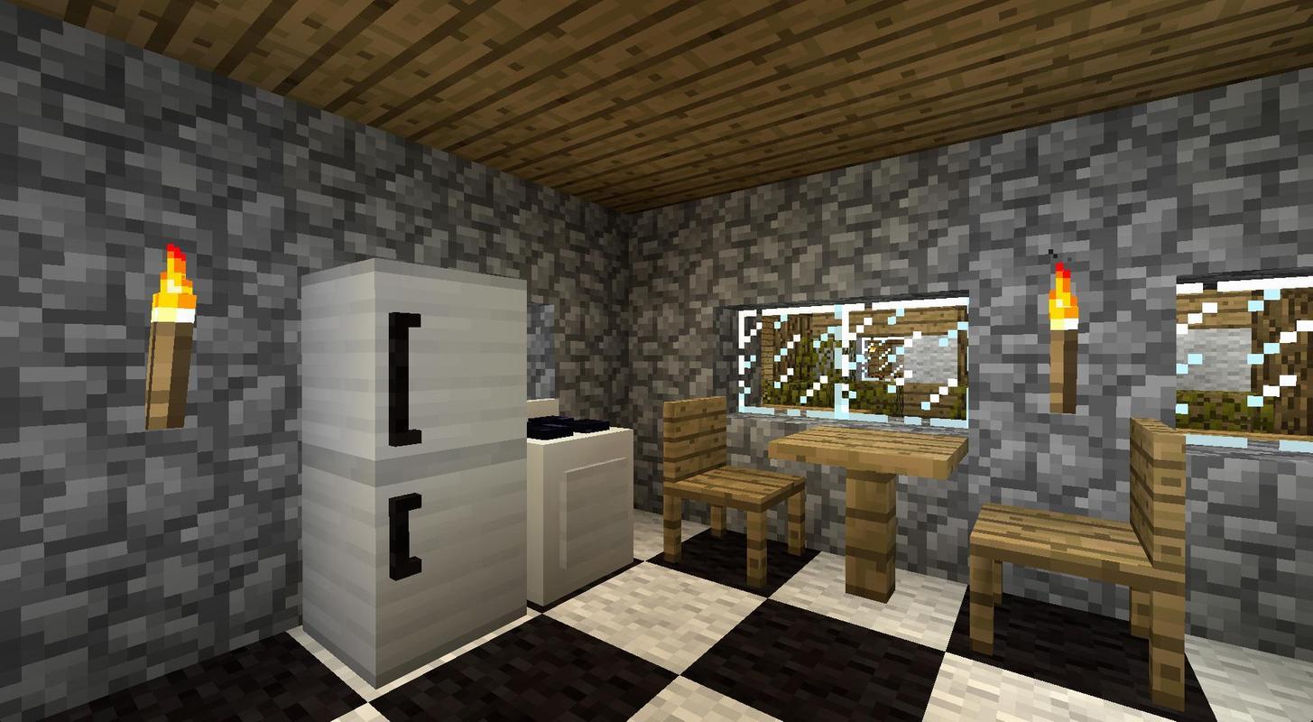 Мод на мебель для майнкрафт 1.7.10