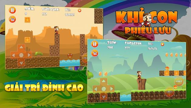 Khi Con Phieu Luu - Game Vui apk screenshot