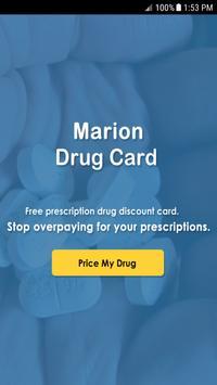 Marion Drug Card poster