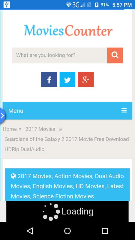 guardians of the galaxy 2 download movies counter
