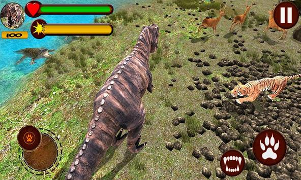 Tiger vs Dinosaur Adventure 3D apk screenshot