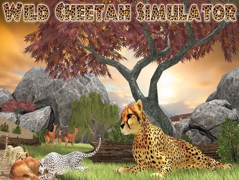 Wild Cheetah Hunt Simulator 3D apk screenshot