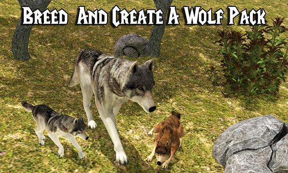 Wild Wolf Adventure Simulator poster