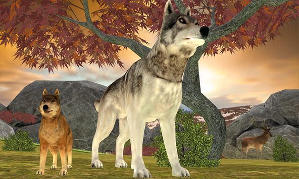 Wild Wolf Adventure Simulator apk screenshot