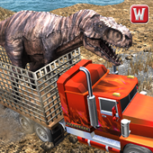 Angry Dino Offroad Transporter icon