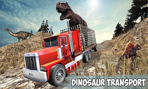 Angry Dino Offroad Transporter poster