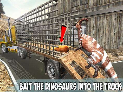 Angry Dino Offroad Transporter screenshot 10